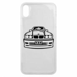 Чехол для iPhone Xs Max BMW E34