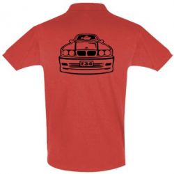 Мужская футболка поло BMW E34