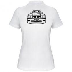 Женская футболка поло BMW E34 - FatLine