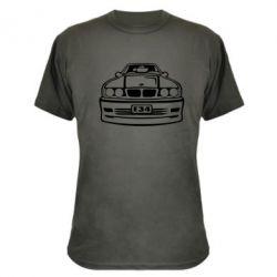 Камуфляжная футболка BMW E34 - FatLine