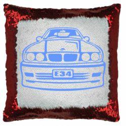 Подушка-хамелеон BMW E34