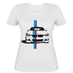 Женская футболка BMW F30 - FatLine