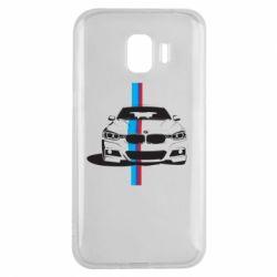 Чехол для Samsung J2 2018 BMW F30 - FatLine