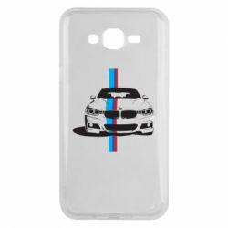 Чехол для Samsung J7 2015 BMW F30 - FatLine