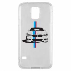 Чехол для Samsung S5 BMW F30 - FatLine
