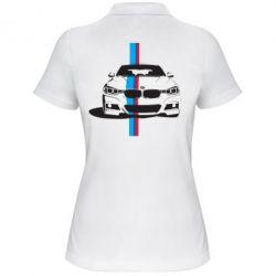 Женская футболка поло BMW F30 - FatLine