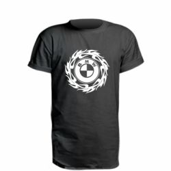 Подовжена футболка BMW in the circle of fire
