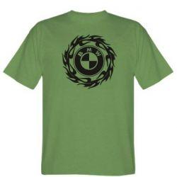 Чоловіча футболка BMW in the circle of fire