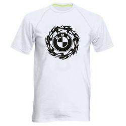Чоловіча спортивна футболка BMW in the circle of fire