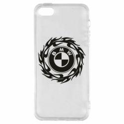 Купить Чехол для iPhone5/5S/SE BMW in the circle of fire, FatLine