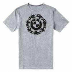 Чоловіча стрейчева футболка BMW in the circle of fire