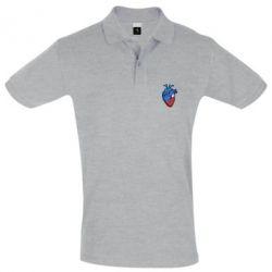 Футболка Поло BMW in the heart