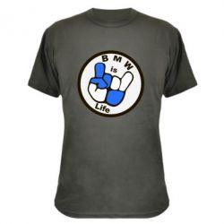 Камуфляжная футболка BMW is Life - FatLine