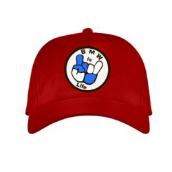 Детская кепка BMW is Life - FatLine