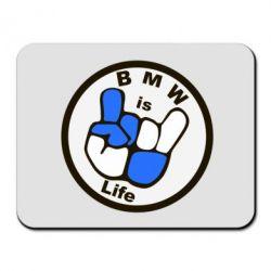 Коврик для мыши BMW is Life - FatLine