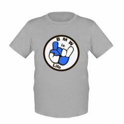 Детская футболка BMW is Life - FatLine