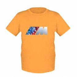 Детская футболка BMW logo 1