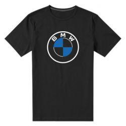 Чоловіча стрейчева футболка BMW logo 2020