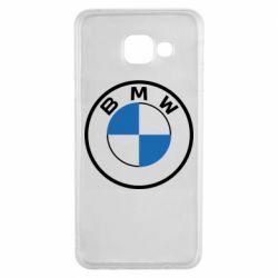 Чохол для Samsung A3 2016 BMW logo 2020