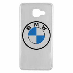Чохол для Samsung A7 2016 BMW logo 2020