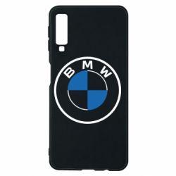 Чохол для Samsung A7 2018 BMW logo 2020