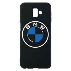 Чохол для Samsung J6 Plus 2018 BMW logo 2020