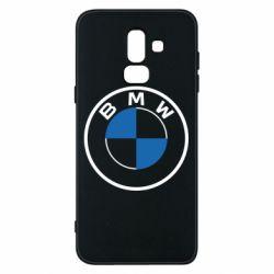 Чохол для Samsung J8 2018 BMW logo 2020