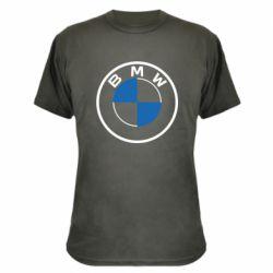 Камуфляжна футболка BMW logo 2020