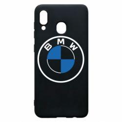 Чохол для Samsung A30 BMW logo 2020