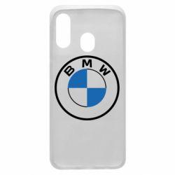Чохол для Samsung A40 BMW logo 2020