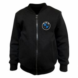 Дитячий бомбер BMW logo 2020