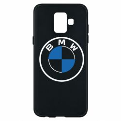 Чохол для Samsung A6 2018 BMW logo 2020