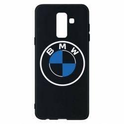 Чохол для Samsung A6+ 2018 BMW logo 2020