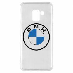 Чохол для Samsung A8 2018 BMW logo 2020