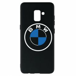 Чохол для Samsung A8+ 2018 BMW logo 2020