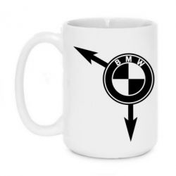 Кружка 420ml BMW logo 2