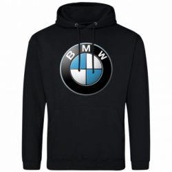 Мужская толстовка BMW Logo 3D - FatLine