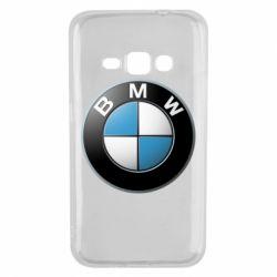 Чехол для Samsung J1 2016 BMW Logo 3D