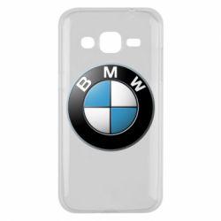 Чехол для Samsung J2 2015 BMW Logo 3D