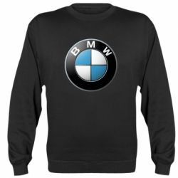 Реглан (свитшот) BMW Logo 3D - FatLine