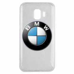 Чехол для Samsung J2 2018 BMW Logo 3D