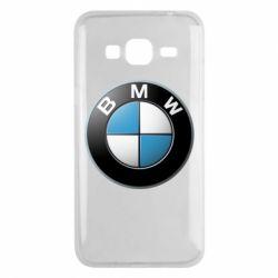 Чехол для Samsung J3 2016 BMW Logo 3D