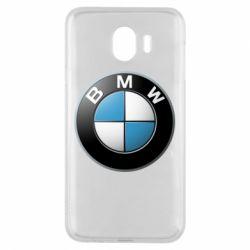 Чехол для Samsung J4 BMW Logo 3D