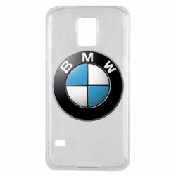 Чехол для Samsung S5 BMW Logo 3D