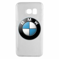 Чехол для Samsung S6 EDGE BMW Logo 3D