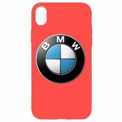 Чехол для iPhone XR BMW Logo 3D