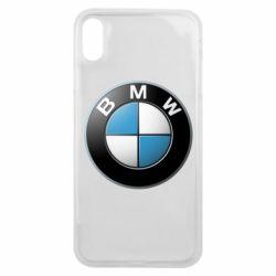 Чехол для iPhone Xs Max BMW Logo 3D