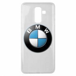 Чехол для Samsung J8 2018 BMW Logo 3D