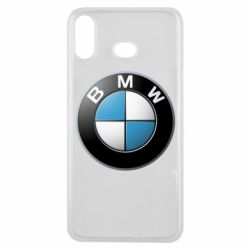 Чехол для Samsung A6s BMW Logo 3D