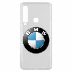 Чехол для Samsung A9 2018 BMW Logo 3D
